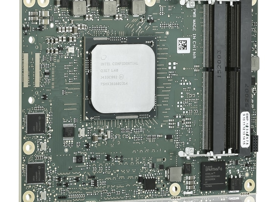 Kontron's first COM Express® Type 7 Computer-on-Module delivers server-class performance in a small form factor