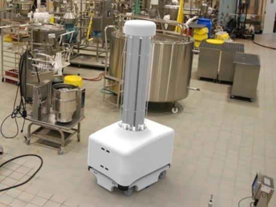 Autonomous disinfection of patient rooms by Blue Ocean Robotics