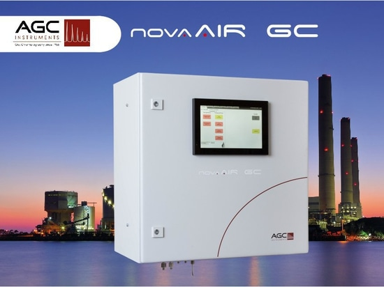 Efficiently monitor industrial processes with the new compact AGC NovaAIR Gas Analysis System