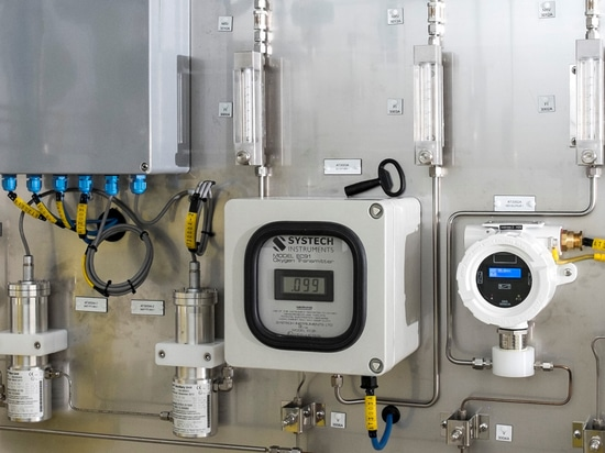 Monitoring the oxygen content in bio-methane-to-grid supply