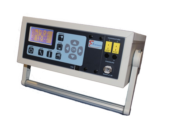 New 5 Gas Exhaust Analyzer