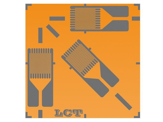 LCT Strain Gauges Rectangular Rosettes