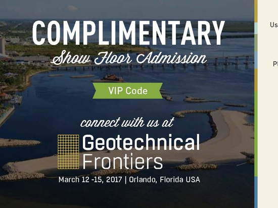 Jewell Instruments to Exhibit at Geotechnical Frontiers