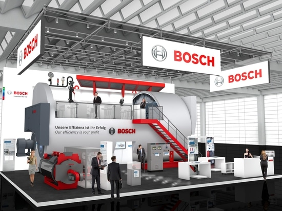 Bosch Industrial at the ISH Energy 2017: Hall 8.0, Stand B31