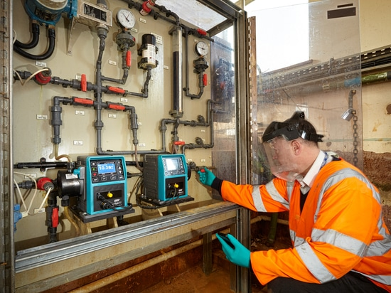 Qdos pumps from WMFTG replace diaphragm pumps at Welsh Water