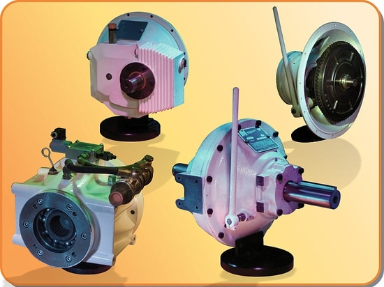 Industrial clutches and gearboxes