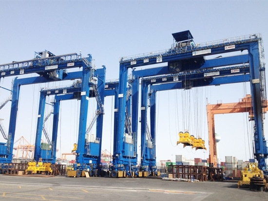 HIT welcomes arrival of SANY Hybrid RTG