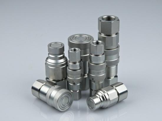 Rapid fitting / hydraulic / steel