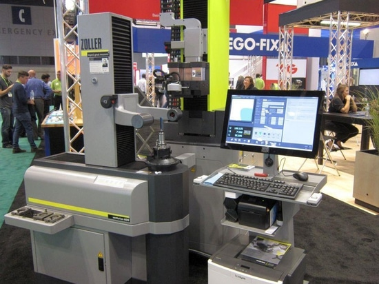 This tool clamping and measurement cell from Zoller and Rego-Fix was shown at IMTS last September.