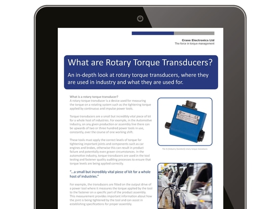 What are Rotary Torque Transducers?