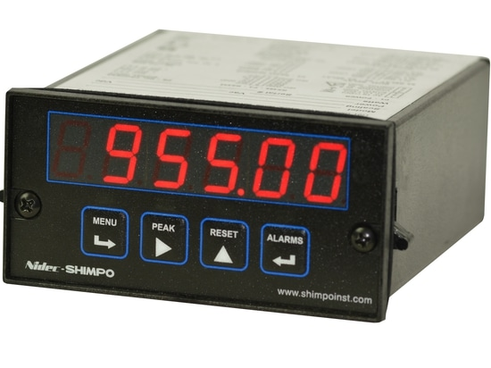 NEW PM-THC & PM-RTD 1/8 DIN Temperature Meters