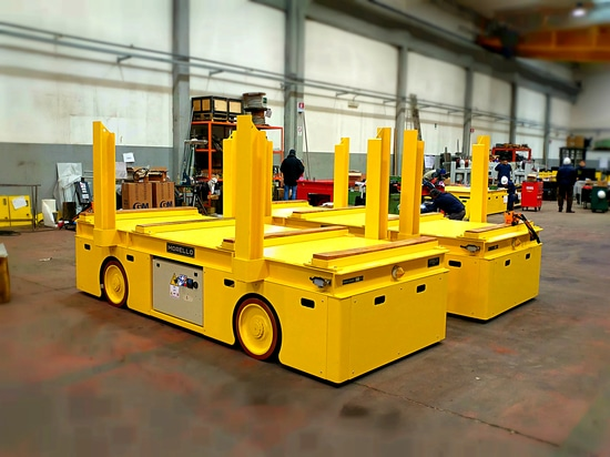 Electric powered carts – Capacity 40 ton