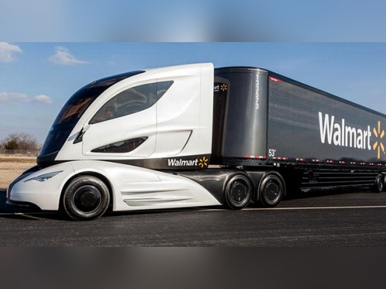 THE AERODYNAMIC TRACTOR-TRAILER OF THE FUTURE