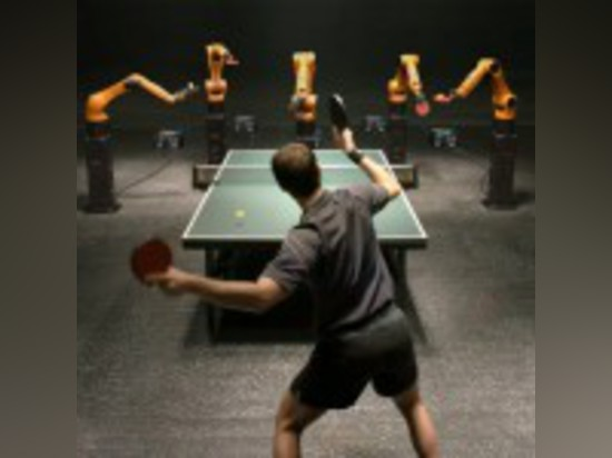 WATCH A PRO TABLE TENNIS PLAYER FACE OFF AGAINST A ROBOTIC ARM