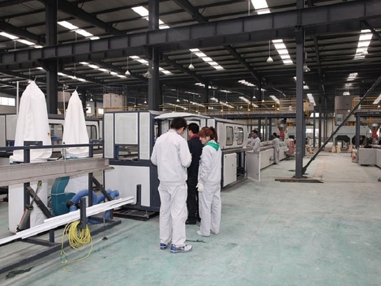 Profile Production Line for pvc window profile ,ceiling panel ,trunking
