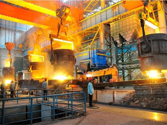 Reactive power compensation solution in rolling mill