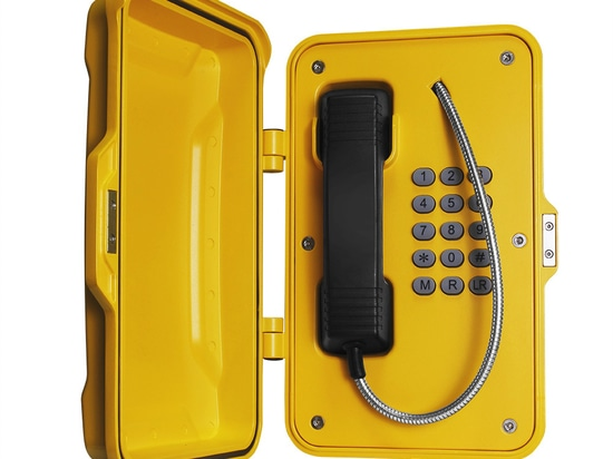 J&R Emergency Phones for Tunnel Installation