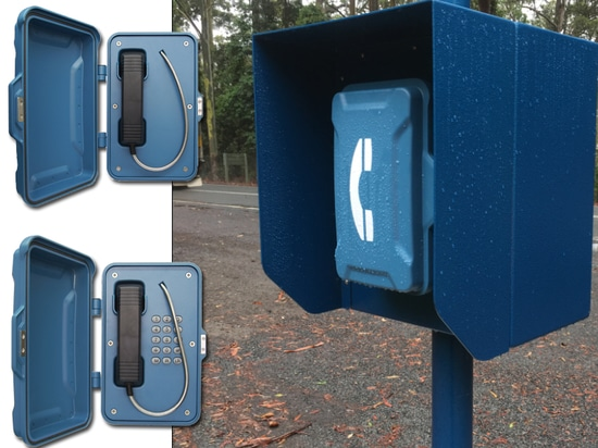 Emergency Roadside Telephones installed in Oxley Highway in Australia