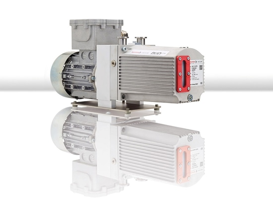 Pfeiffer Vacuum introduces new magnetically coupled rotary vane pump Duo 11 ATEX