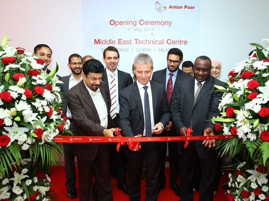 Anton Paar launches Technical Centre in Dubai