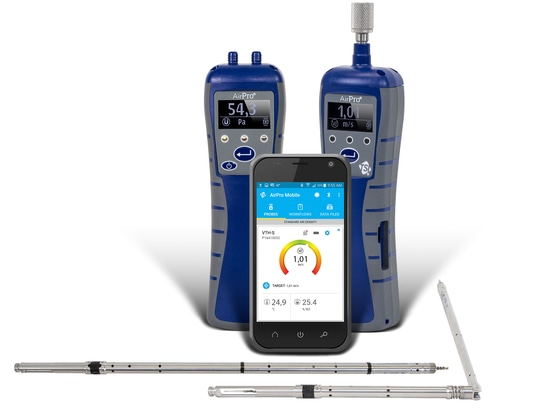 TSI Introduces Revolutionary Wireless AirPro® Instruments