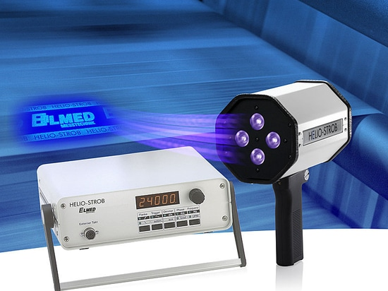 HELIO-STROB UV365 - UV stroboscope for the monitoring of security features