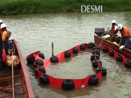 New Video: From real oil spills in fast current rivers