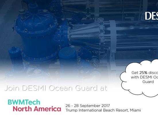Join DESMI Ocean Guard at BWMTech North America 2017