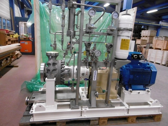 Egger Offshore pump in shipping department