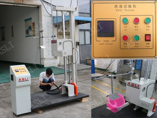 Drop Test Machine will ship to Korean customers