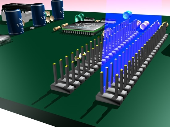 Verification of Pin Alignment in Production of Electronics