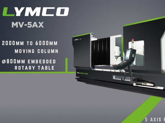 Increase your efficiency with LYMCO's 5 axis Milling Center
