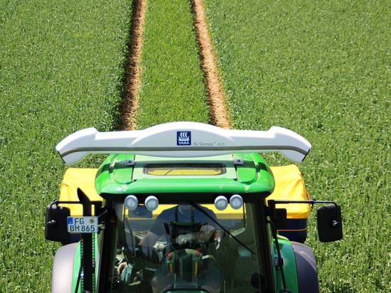 The digitalization has arrived in the agricultural sector