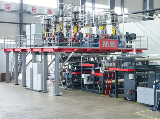 Jinming Multi-layer Cast Film Equipment Stands in the Front of the Industry