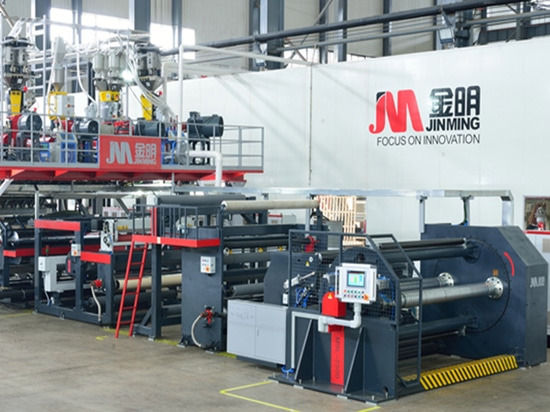 Jinming Presents 1st 11-layer High-barrier Functional Cast Film Line in Asia Pacific