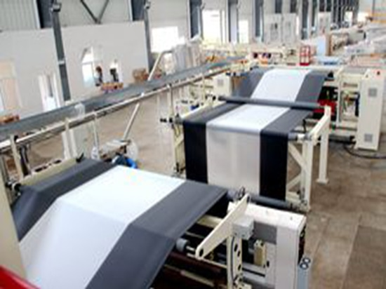 Jinming 6-layer Coextrusion Cast Film Line Passed Acceptance Inspection by Israeli Customer