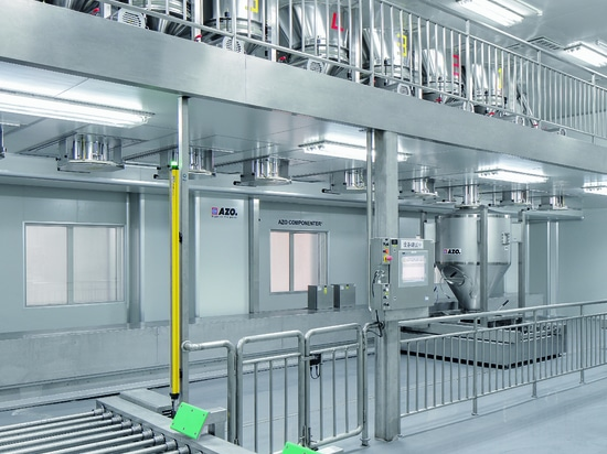 AZO COMPONENTER®, linear for manufacturing neutraceuticals