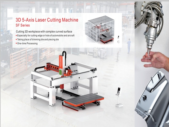 3D 5-Axis Laser Cutting Machine