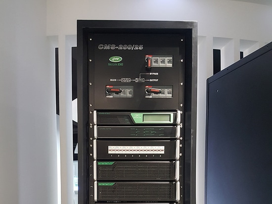 Sicon modular UPS installed in Beijing Gas Group