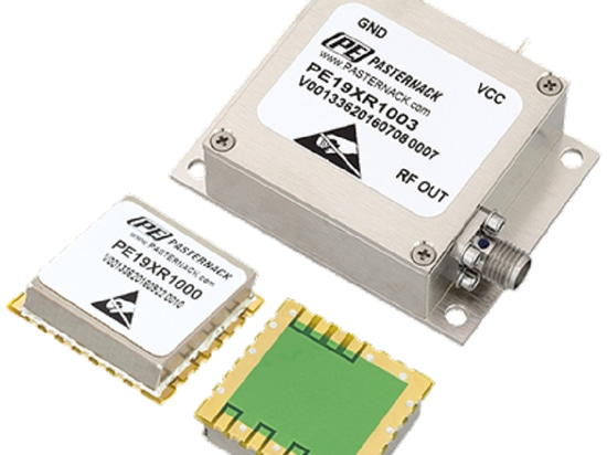 Free-Running Reference Oscillator Product Line Ships Same-Day from Pasternack