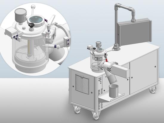 MTI Laboratory Mixer