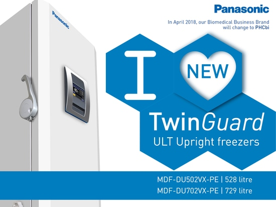 Step up sample security with the new TwinGuard Ultra Low Temperature Upright Freezers from Panasonic