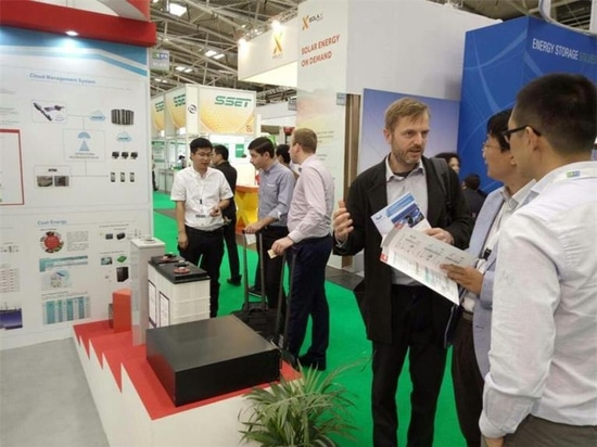 Sacred Sun presenting the wonderful of Intersolar Europe to you