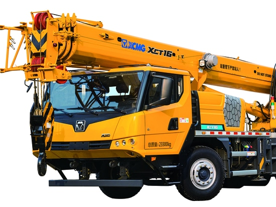 XCMG Features and advantages of XCT16 Truck Crane