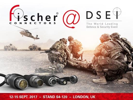Fischer Connectors @DSEI2017