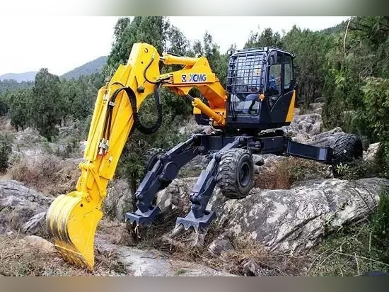 XCMG ET110 walking excavator, China's version of transformers