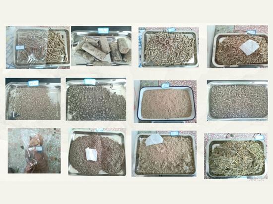 Biomass samples