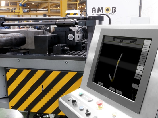 AMOB DELIVERS ANOTHER 120MM CAPACITY FULLY CNC PIPE BENDER TO THE OFFSHORE INDUSTRY