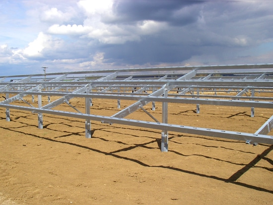 AMOB RECENTLY DELIVERED A TURNKEY ROLL FORMING LINE TO A MAJOR SOLAR PANEL INSTALLATION COMPANY