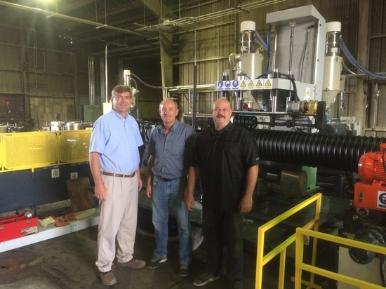 Steel pipe maker begins production of composite pipes
